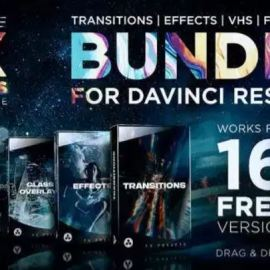 Videohive FX Presets Bundle for DaVinci Resolve   Transitions, Effects, VHS, SFX 30888590