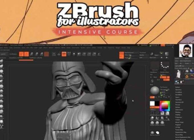 3DConceptArtist ZBrush for illustrators INTENSIVE COURSE