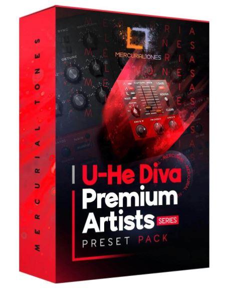 Mercurial Tones Diva Preset Pack Premium Artist Series