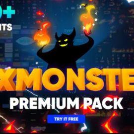 Videohive – FX MONSTER – Premium Pack [1650+ 2D FX Elements] – 32201381 (premium)
