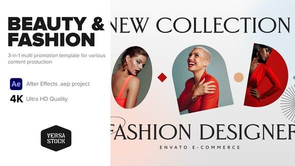 Videohive 3 In 1 Fashion Apparel Beauty Opener