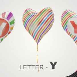 Videohive Balloons With Letter S 33525503 Free Download