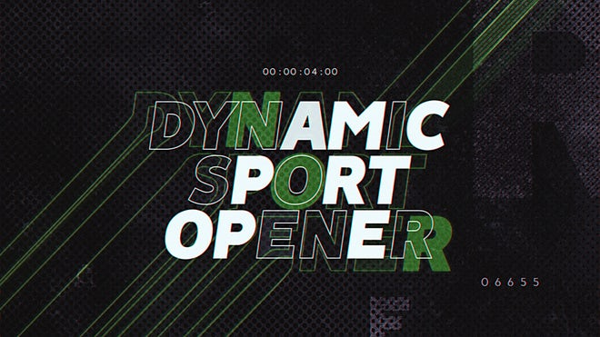 Videohive Dynamic Sport Opener 22571341 Free Download