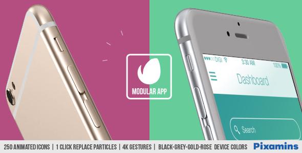 Videohive Modular App Promo 17952515 Free Download