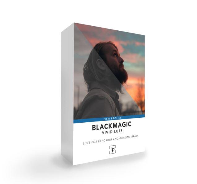 Blackmagic Braw Vivid LUTs