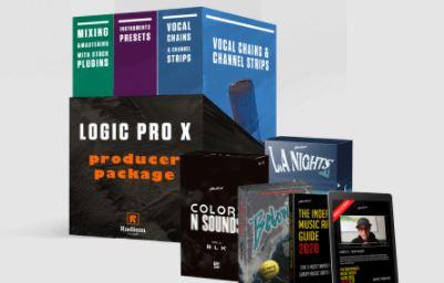 Radium Media Logic Pro Producer Pack [WAV, TUTORiAL, DAW Templates]
