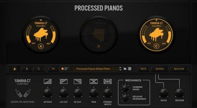 Reason RE Reason Studios Processed Pianos v1.0.1