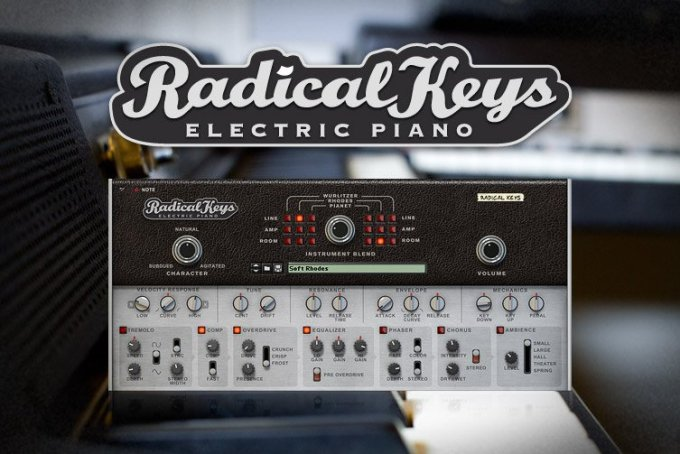 Reason RE Reason Studios Radical Keys v1.0.0