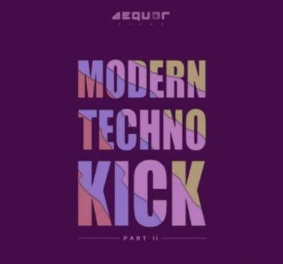 Aequor Sound Modern Techno Kick Part 2 [WAV]