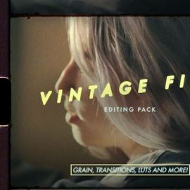 Austin Newman – Austin Makes Films Vintage Film Editing Pack (Grain Transitions LUTs and Overlays)