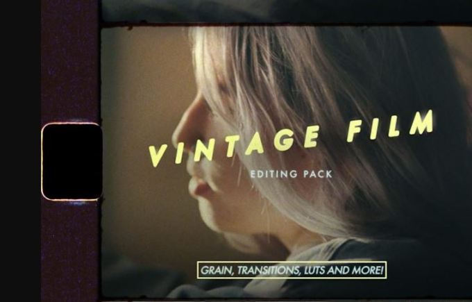 Austin Newman - Austin Makes Films Vintage Film Editing Pack (Grain Transitions LUTs and Overlays)