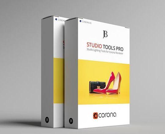 Corona Studio Tools Pro v1.0 for Cinema 4D