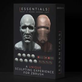 Digital Clay – The Essentials Toolkit v1.2 for Zbrush