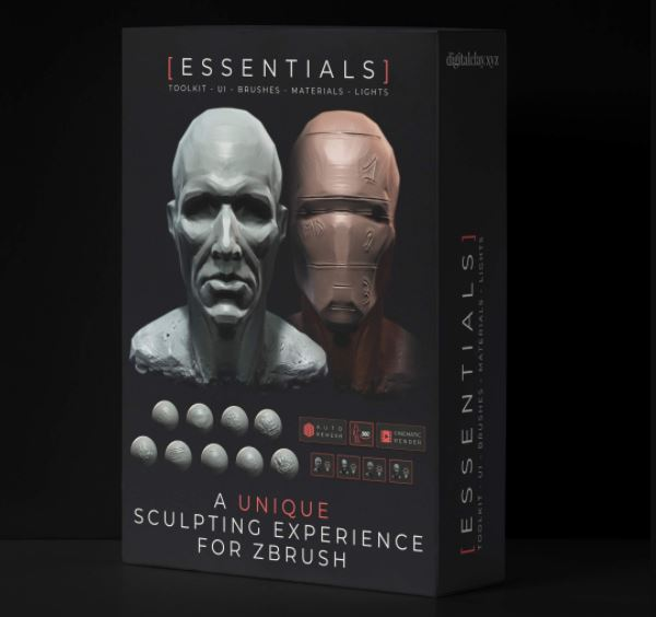 Digital Clay - The Essentials Toolkit v1.2 for Zbrush