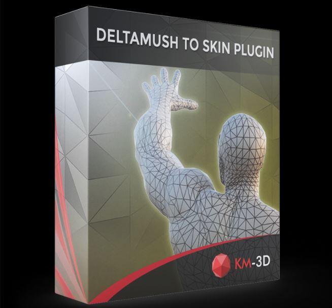 KM-3D DeltaMushToSkin v1.0 for 3ds Max 2013 - 2022