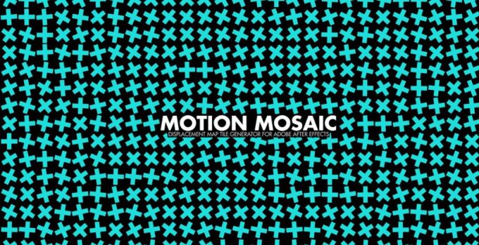 Motion Mosaic 1.0 - Displacement Map Tile Generator