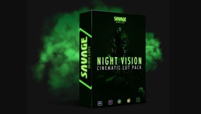 SavageLUTS - Night Vision LUTS PACK