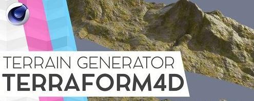 Terraform4D v1.1.0 for Cinema 4D R20 R21 S22 R23