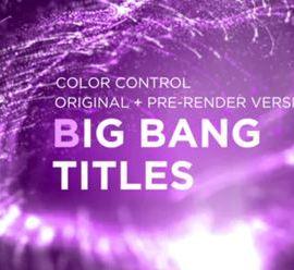 Videohive Big Bang Titles 34258778
