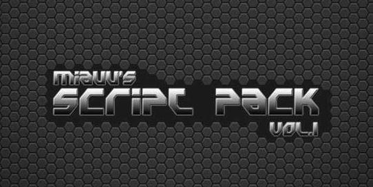 miauu's Script Pack vol.1 v4.4 for 3ds Max