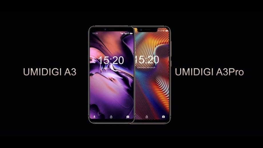 UMIDIGI A3とA3 Proの違いまとめ/カメラ/スペック/ディスプレイ/ベンチマーク