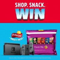Nintendo Switch Sweepstakes by Purchasing Special Frito-Lay Variety Packs