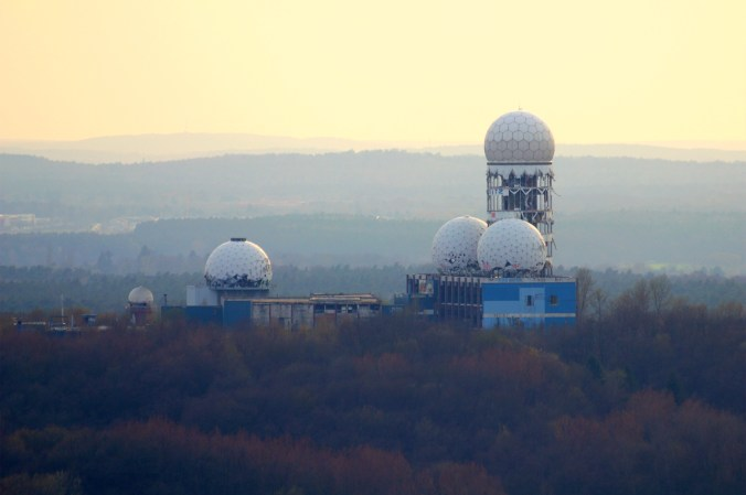 Teufelsberg tower