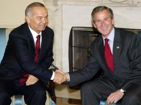 Bush-Islam-Karimov