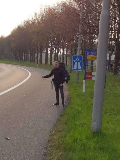 hitchhiking from the netherlands to vietnam