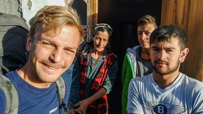 Hospitable people in the Pamirs.
