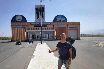 hitchhiked to tajikistan