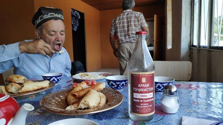 tajik wodka and hospitality