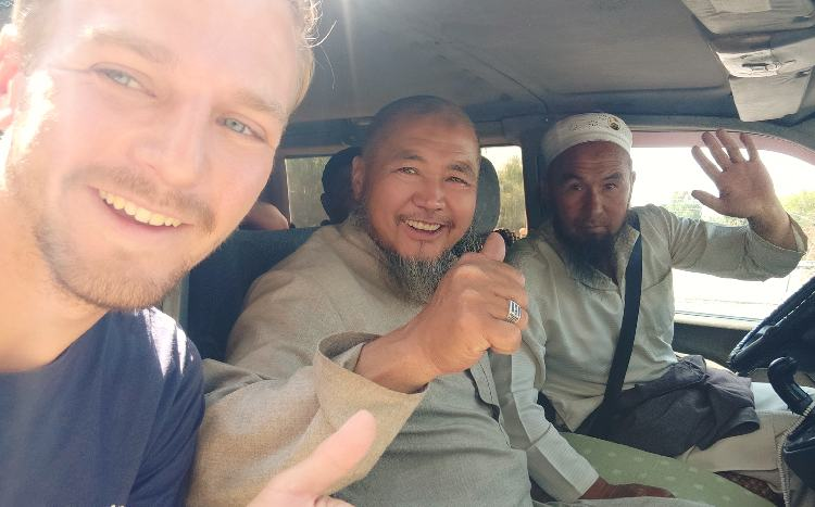 Five Islamic men