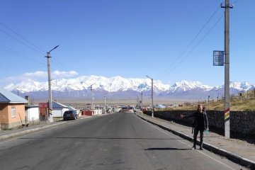 hitchhiked to kyrgyzstan
