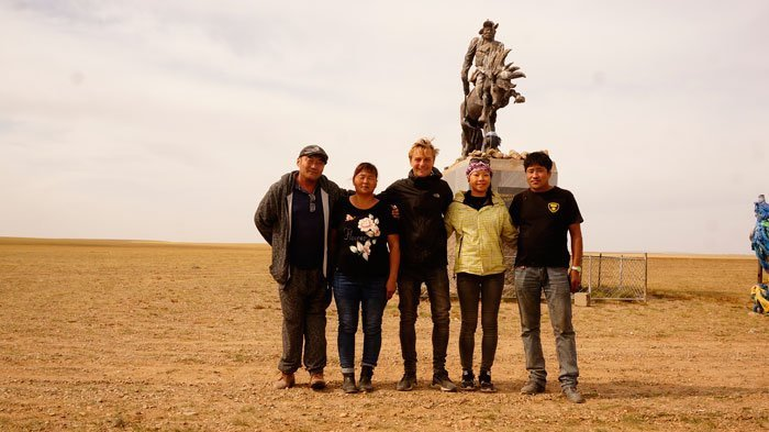 Mongolians are very friendly and hospitable.