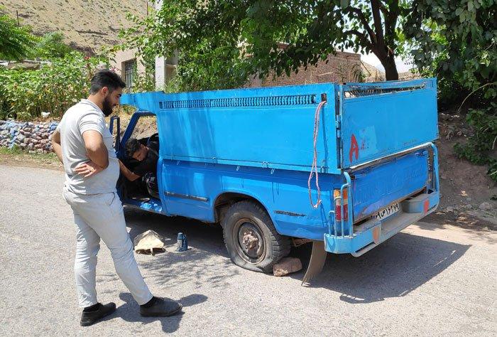 iranian pickup truck zamyad 5000