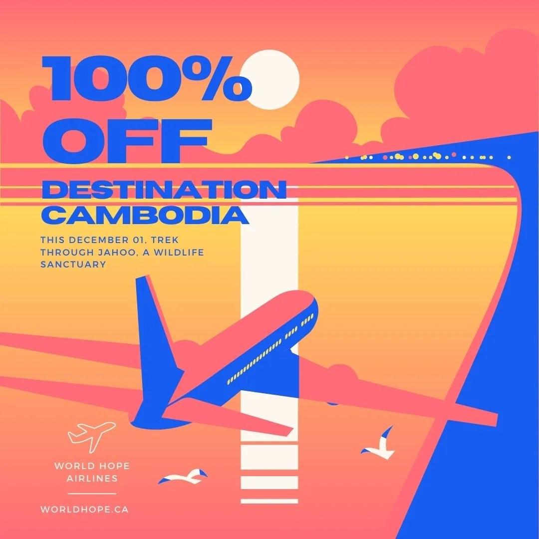 100% off Destination Cambodia