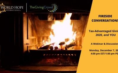 Fireside Conversations: Tax-Advantaged Giving, 2020, & You