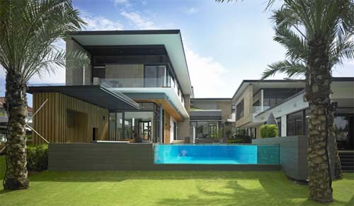 Modern House Design At Astrid Hill By K2Ld Architects Interior