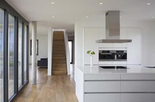 Modern LShape House Design by Lorentz Roth Architects  Interior DesignArchitectureFurniture