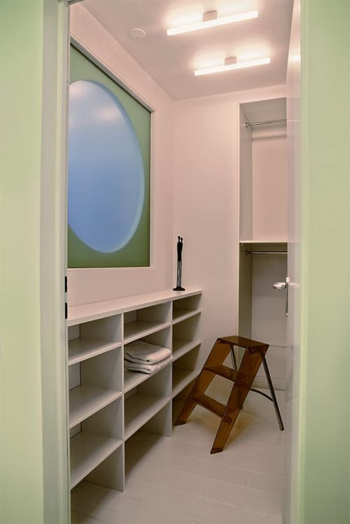 Small Apartment with Bright Interior Design  Interior