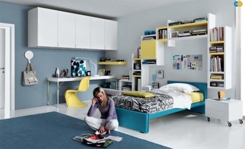 modern teenager bedroom | interior design|architecture|furniture