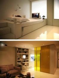 Hi-Tech Interior Design for Small Apartment | Interior ...