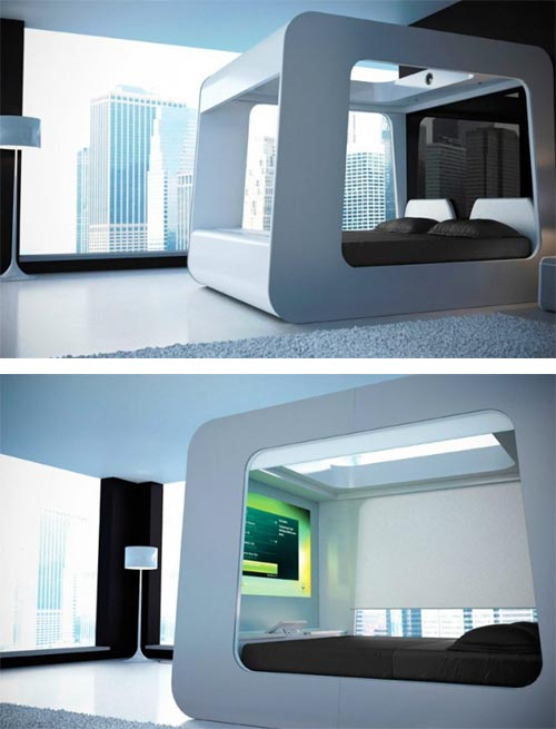 Sophistication Of Technology Interior Design Architecture