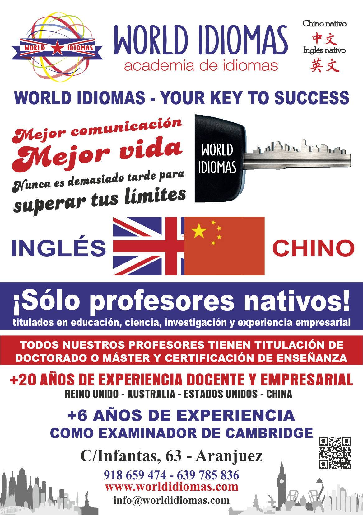 World Idiomas English And Chinese First Certificate Ket