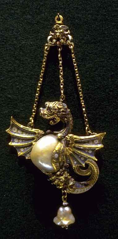 Dragon pendant.