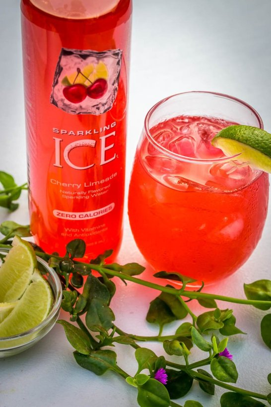 Sparkling Ice Drink Recipes | Low-Calorie Keto Friendly and perfect for summer -A Collection of the Best Sparkling Ice Cocktails, Mocktails and drink recipes. Sparkling Sangria Tea, Sparkling Fruity Green Tea. We've got fun cocktail recipes for every occasion. Cherry Lime & Coconut Sparkling Ice Cocktails. 3 oz Malibu Coconut Rum. 3 oz of Cherry Lime Sparkling Ice. Splash of freshly squeezed lime juice. Crushed Ice. Garnish with a slice of lime. Refreshing Sparkling Ice Recipes for Summer.