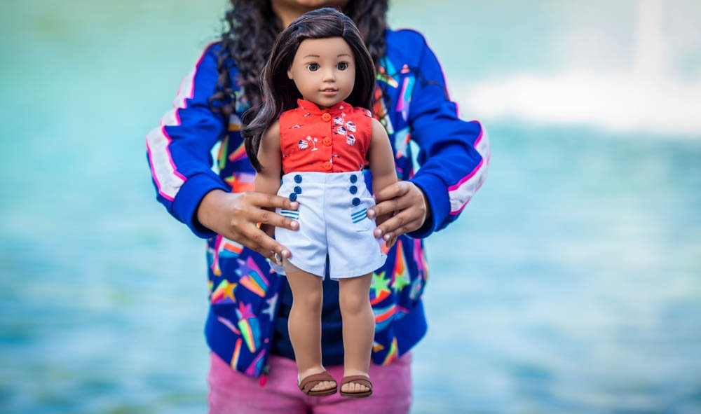 Hawaiian American Girl Doll