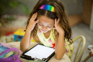 "Nowadays kids spend a lot of time on technology. Doing homework, playing video games chatting with friends. All that time adds up and if you're not careful, it can add up to a lot. If you're looking to curb your child's screen time, check out this post ""How to Control Your Kids Screen Time Without Losing Your Mind""!"