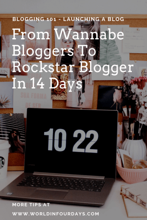 "If you're a newbie wannabe blogger and don't know where to start this ""From Wannabe Blogger to Rockstar Blogger in 14 Days"" is the video for you. I walk you through step by step how to go from no blog to rockstar blogger in 14 days. Grab a glass of wine, and pull up a chair. You don't want to miss this information."